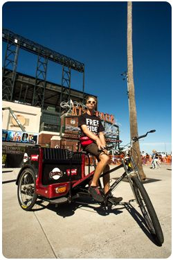 San Francisco Pedicabs Riders