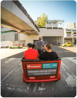 San Francisco Pedicabs Rackspace